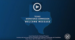 Video welcoming DARS customers and transitioning employees associated with the DARS programs transferring to the Texas Workforce Commission